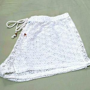 Swimsuit shorts cover women's XL